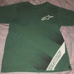 Men's size L Alpine Stars T Shirt
